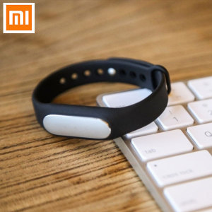 Mi Band Pulse Fitness Monitor and Sleep Tracker - Black