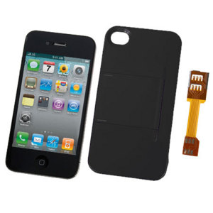 Micro SIM Adapter and Stand Case for iPhone 4S / 4