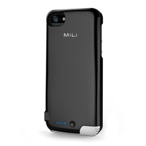 MiLi Power Spring 5 Charging Case for iPhone 5S / 5 - Black