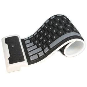 Mini Roll-able Bluetooth Keyboard