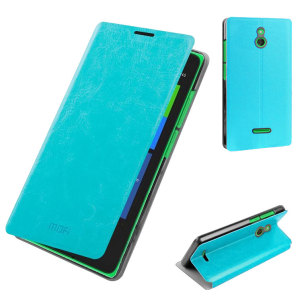 MOFI Rui Series Nokia XL Folio Stand Case - Blue