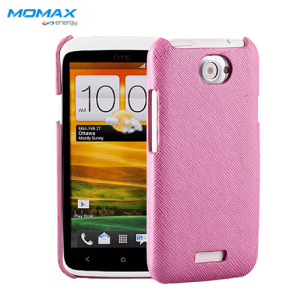 Momax Feel & Touch Case for HTC One X - Pink