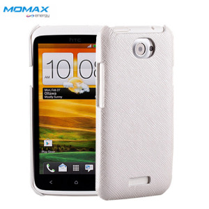 Momax Feel & Touch Case for HTC One X - White