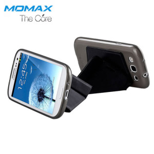 Momax The Core Smart Case for Samsung Galaxy S3 - Black