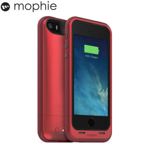 Mophie iPhone 5S / 5 Juice Pack Plus 2100 mAh - Red