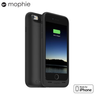 Mophie MFi iPhone 6S / 6 Juice Pack Air Battery Case - Black