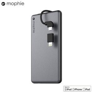 Mophie Powerstation Plus Mini 4000mAh Power Bank - Space Grey