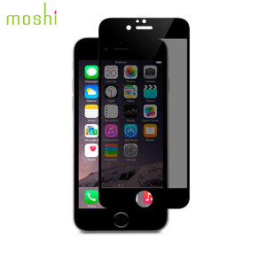Moshi iVisor 6S Plus / 6 Plus Privacy Glass Screen Protector - Black