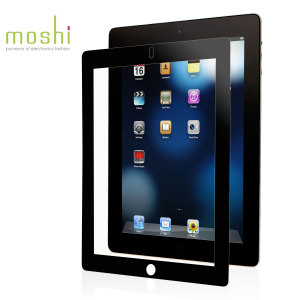 Moshi iVisor AG Anti Glare Screen Protector for iPad 4 / 3 / 2 - Black