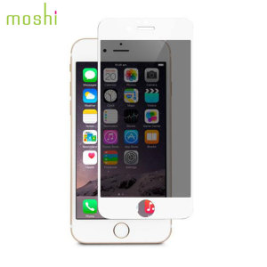 moderator moshi ivisor iphone 6s/6 privacy glass screen protector white 1 additional evaluation necessary