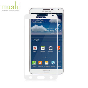 Moshi iVisor XT Screen Protector for Samsung Galaxy Note 3 - White