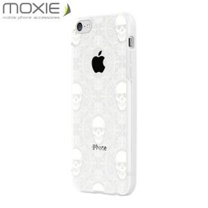 Moxie Skull Series Shell for iPhone 5C - White