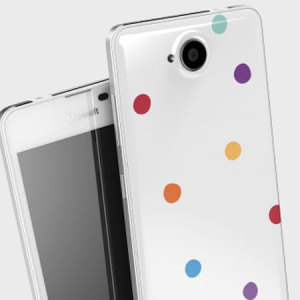 Mozo Microsoft Lumia 650 Back Candy Cover Case - Candy Dots