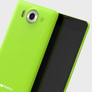 Mozo Microsoft Lumia 950 Wireless Charging Back Cover - Green