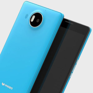 Mozo Microsoft Lumia 950 XL Wireless Charging Back Cover - Blue