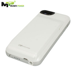 Mugen iPhone 5S / 5 Extended Battery Case 4200mAh - White