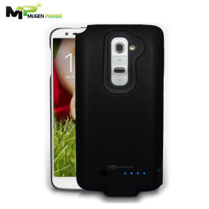 Mugen LG G2 Extended Battery Case 2800mAh - Black