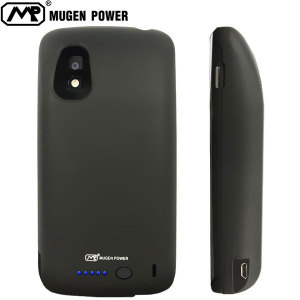 Mugen LG Google Nexus 4 Extended Battery Case (4500mAh) - Black