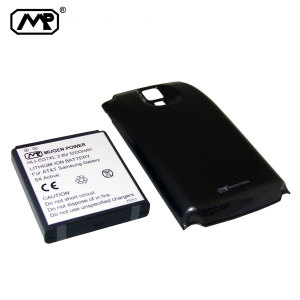 Mugen Samsung Galaxy S4 Active Extended Battery (5500mAh) - Black