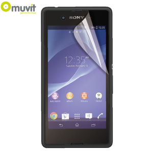 Muvit 2 Pack Matte & Glossy Sony Xperia E3 Screen Protectors