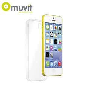Muvit Crystal Case for iPhone 5C - Transparent