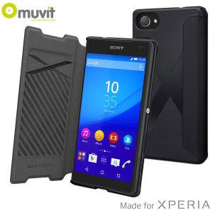 Muvit Easy Folio MFX Sony Xperia Z5 Compact Case - Black