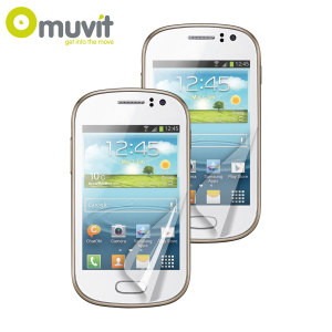 Muvit Matte & Glossy Screen Protector for Samsung Galaxy Fame