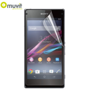 Muvit Matte & Glossy Screen Protector for Sony Xperia Z1 Compact