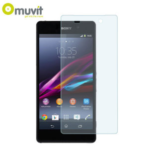 Muvit Matte & Glossy Screen Protector for Sony Xperia Z2