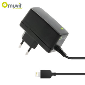 Muvit Made for iPhone Lightning EU Mains Charger - 2.1A