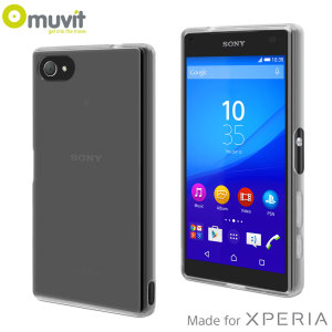 Muvit MFX MiniGel Sony Xperia Z5 Compact Case - Transparent