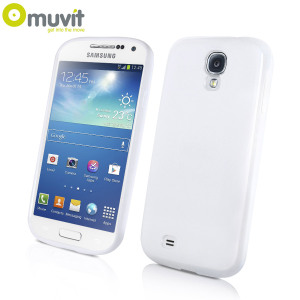 Muvit miniGEL Case for Samsung Gakaxy S4 Mini - White