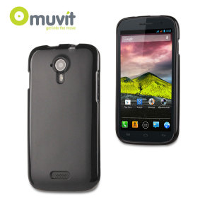 MUVIT MiniGEL Case for Wiko Cink Five - Black