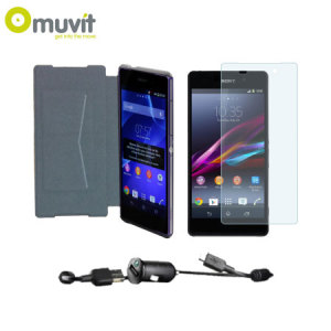Muvit Premium Essential Pack for Sony Xperia Z2