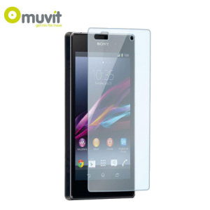 Muvit Tempered Glass Screen Protector for Sony Xperia Z1 Compact