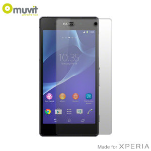 Muvit Tempered Glass Screen Protector for Sony Xperia Z2