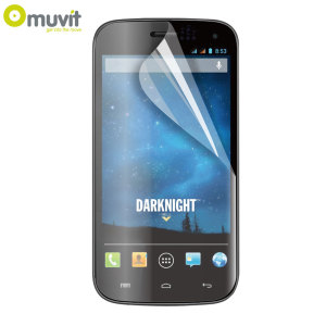 Muvit Twin Pack Matte & Glossy Screen Protector for Wiko Darknight
