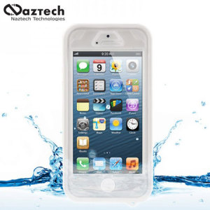 Naztech Vault Waterproof Case for iPhone 5S / 5 - White
