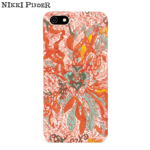 Nikki Pinder iPhone 5S / 5 Hard Case - The Wild Garden