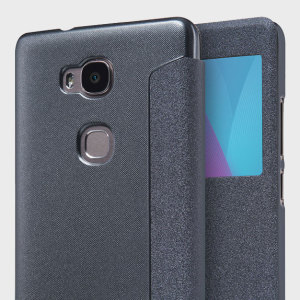 Nillkin Huawei Honor 5X View Case - Black Sparkle