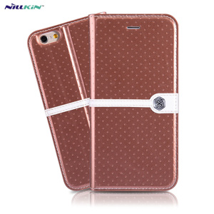 Nillkin Ice iPhone 6S / 6 Leather-Style Stand Case - Bronze
