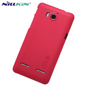Nillkin Super Frosted Huawei G600 Shield Case - Red
