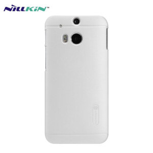 Nillkin Super Frosted Shield HTC One M8 Case - White