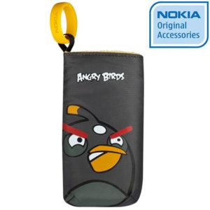 Nokia Angry Birds Pouch CP-3007 - Black Bird