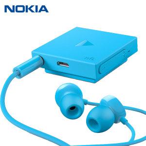 Nokia BH-121 Bluetooth Stereo Headset - Cyan