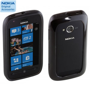 Nokia CC-1046 Bumper For Nokia Lumia 710 - Black