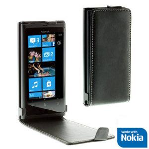 Nokia CP-001N Nokia Lumia 800 Alpha Flip Case - Black