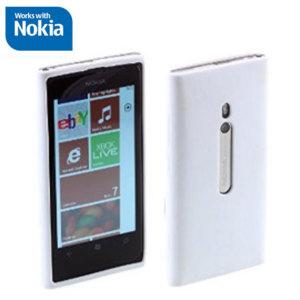 Nokia CP-017N Nokia Lumia 800 TPU Case - White