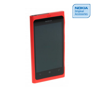 Nokia Lumia 800 Soft Case - CC-1031 - Red