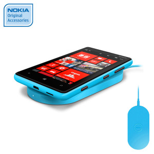 Nokia Lumia 820 / 920 Qi Wireless Charging Plate DT-900CY - Cyan